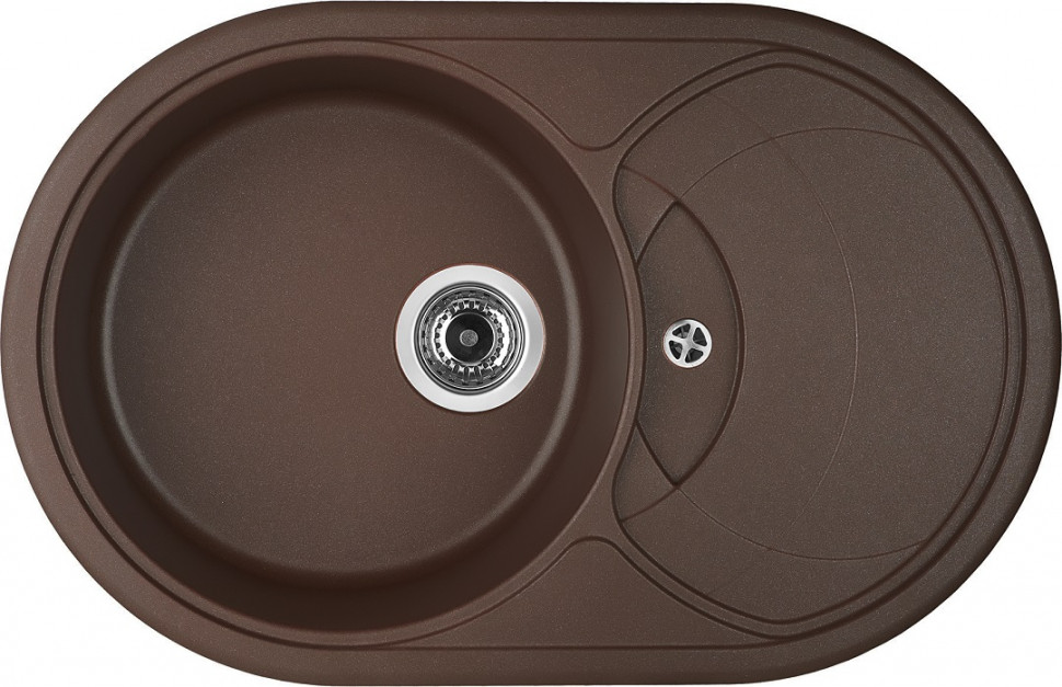 Кухонная мойка марон Longran Eclipse ELG780.500 - 93 цена