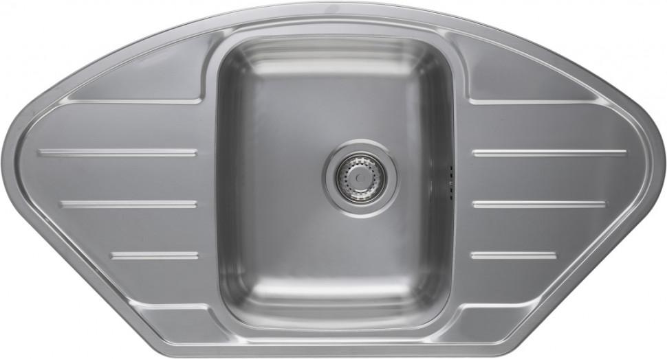 Кухонная мойка полированная сталь Longran Lotus LTP945.510 -XT8P 2C longran lotus 945 w lin 945x510