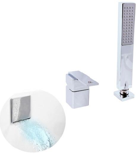 Смеситель на борт ванны Rav Slezak Loira LR563.5Y смеситель для ванны rav slezak loira lr554 5 1
