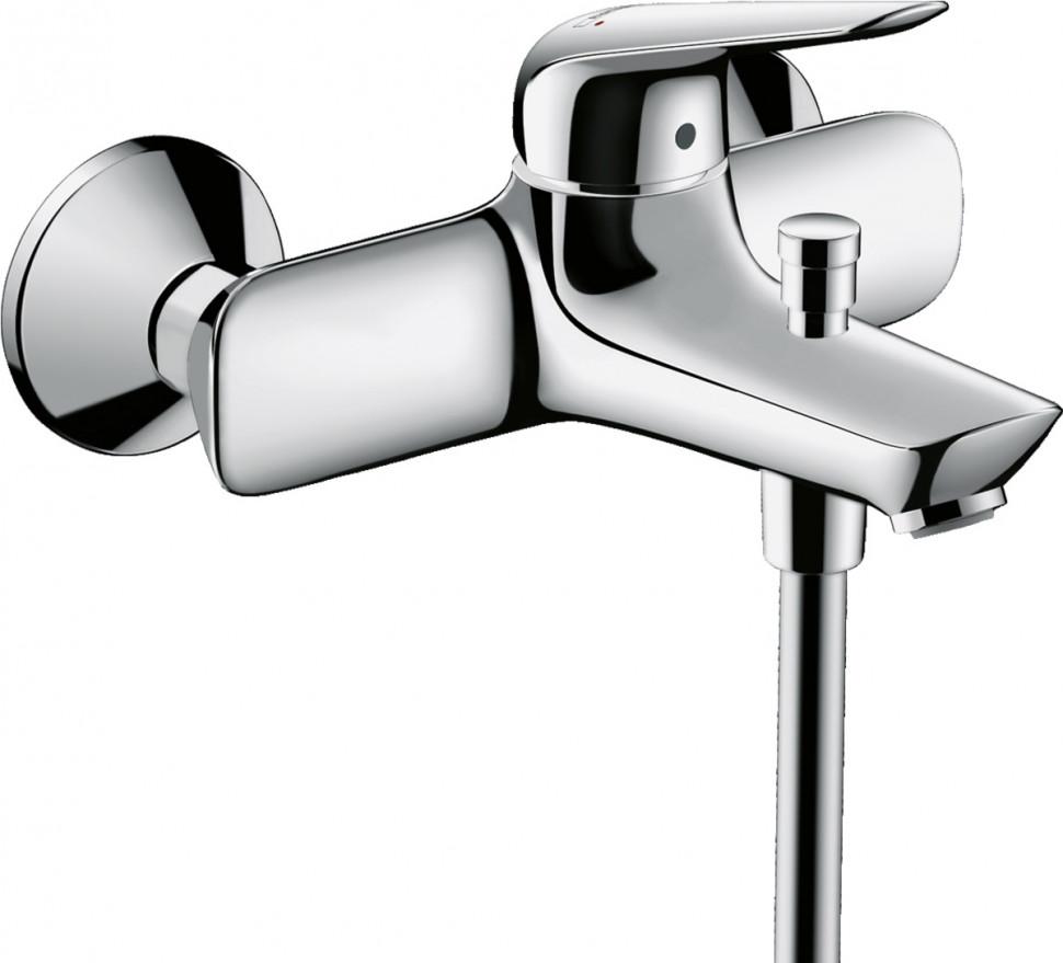 Смеситель для ванны Hansgrohe Novus 71040000 смеситель для ванны hansgrohe novus loop 71340000
