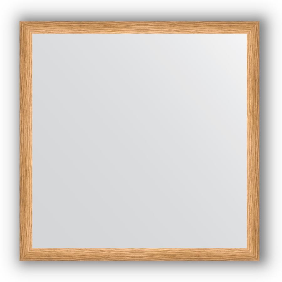 Фото - Зеркало 70х70 см клен Evoform Definite BY 0663 зеркало evoform definite 100х50 клен