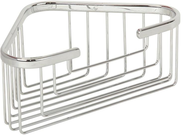 Полка угловая 18х18 см Veragio Baskets Cromo VR.GFT-9043.CR цена и фото