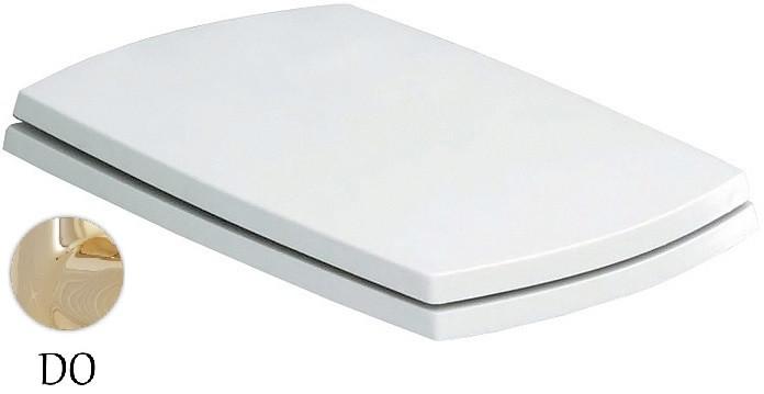 купить Сиденье для унитаза с микролифтом белый/золото Artceram Jazz JZA0060173BI/ORO недорого