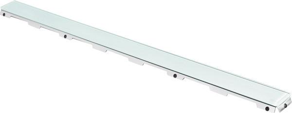 Стеклянная панель 743 мм Tece TECEdrainline glass зеленый 600890 лицевая панель tece 9240674