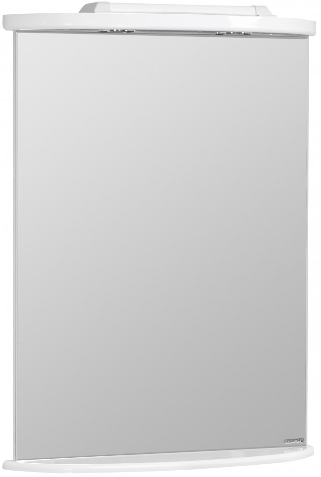 Зеркало 65х86 см белый глянец Акватон Минима 1A000502MN010