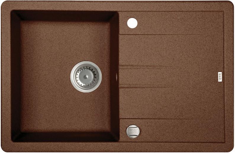Кухонная мойка шоколад IDDIS Vane G V33C781I87 фото