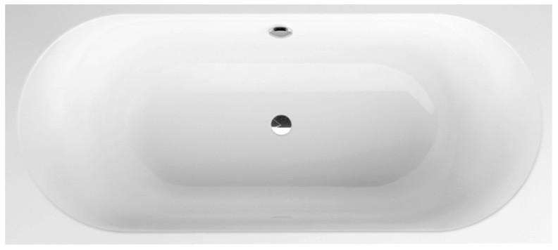 Квариловая ванна 180х80 см альпийский белый Villeroy & Boch Cetus UBQ180CEU2V-01 фото