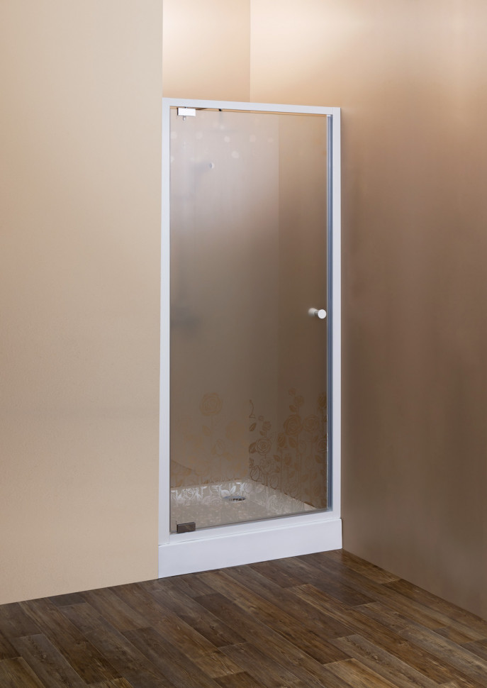 Душевая дверь распашная Cezares Rosa 60 см ROSA-BA-1-60-RO-Bi душевая дверь в нишу cezares rosa rosa ba 1 60 ro bi