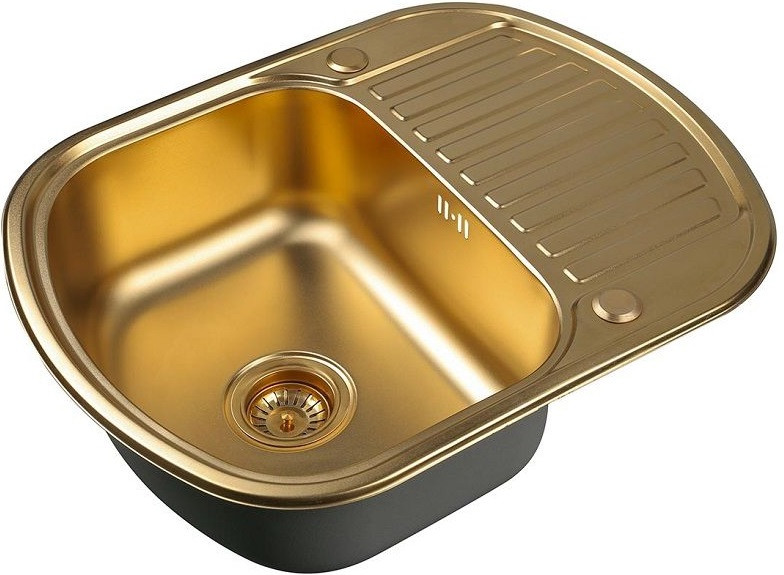 Кухонная мойка Zorg Inox PVD SZR-6249 BRONZE цена и фото