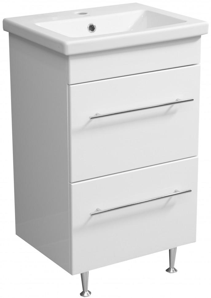 цена на Тумба белый глянец 47 см Stella Polar Ванесса SP-00000217