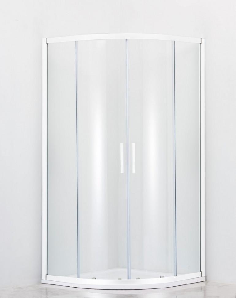 Фото - Душевой уголок 80х80 см Cezares RELAX-R-2-80-C-Bi прозрачное душевой уголок 80х80 см cezares molveno r 2 80 c cr iv прозрачное