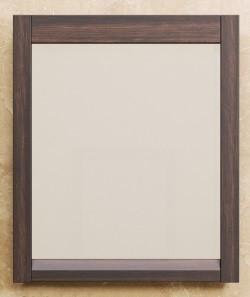 Зеркало 70х85 см венге Opadiris Лаварро Z0000000693 тумба с раковиной opadiris лаварро z0000000969 z0000000693
