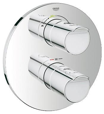Grohe Grohtherm 2000 NEW 19355001 Термостат для ванны, комплект верхней монтажной части для 35 500 смеситель для ванны grohe grohtherm 2000 new 34176001