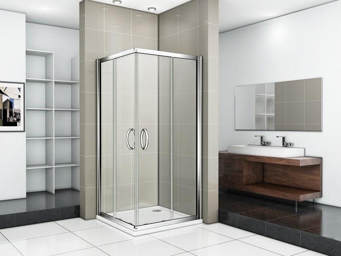 Душевой уголок 90х90 см Good Door Infinity CR-90-C-CH прозрачное душевой уголок good door fantasy cr 80 f ch без поддона