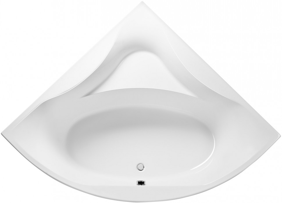Акриловая ванна 150x150 см Excellent Glamour WAEX.GLA15WH