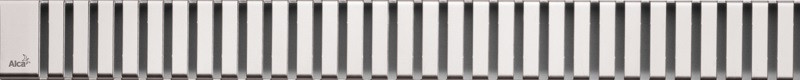Декоративная решетка 744 мм AlcaPlast Line глянцевый хром LINE-750L фото