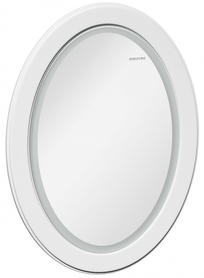 Зеркало белый глянец 79х105 см Edelform Milarita 2-681-00-S фото