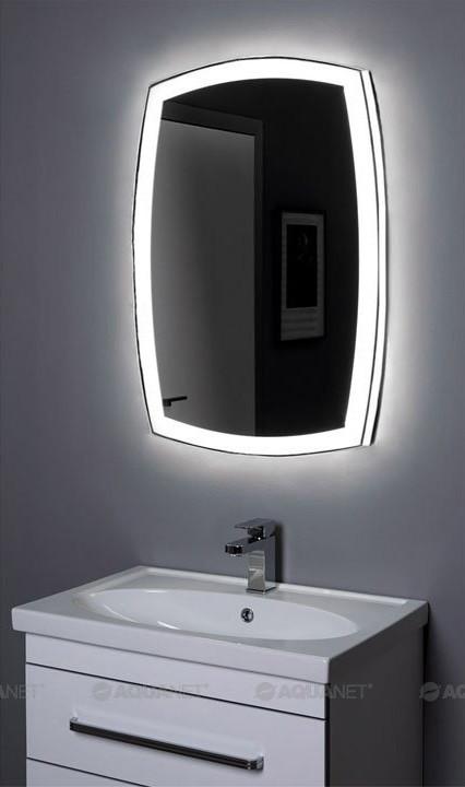 Зеркало с подсветкой 80х85 см Aquanet Тоскана 00196665 зеркало с подсветкой 60х85 см aquanet тоскана 00196955
