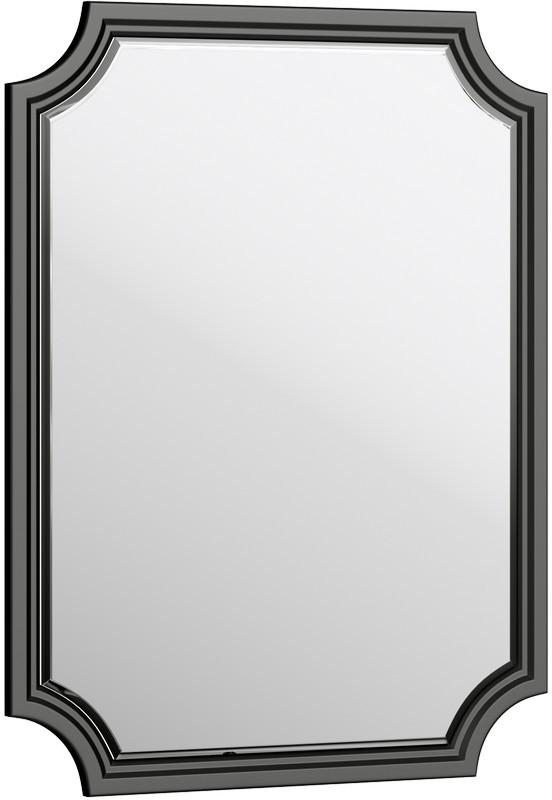 Зеркало 72х95 см черный матовый Aqwella 5 Stars LaDonna LAD0207BLK
