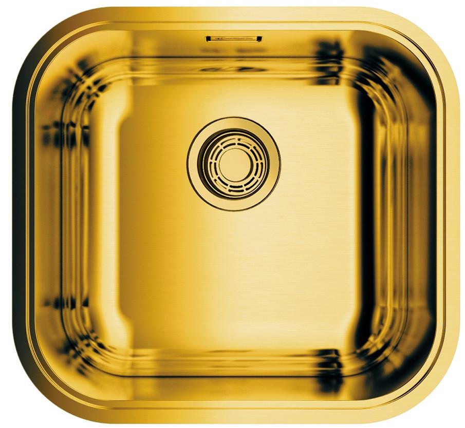 купить Кухонная мойка латунь Omoikiri Omi 44-AB по цене 18888 рублей