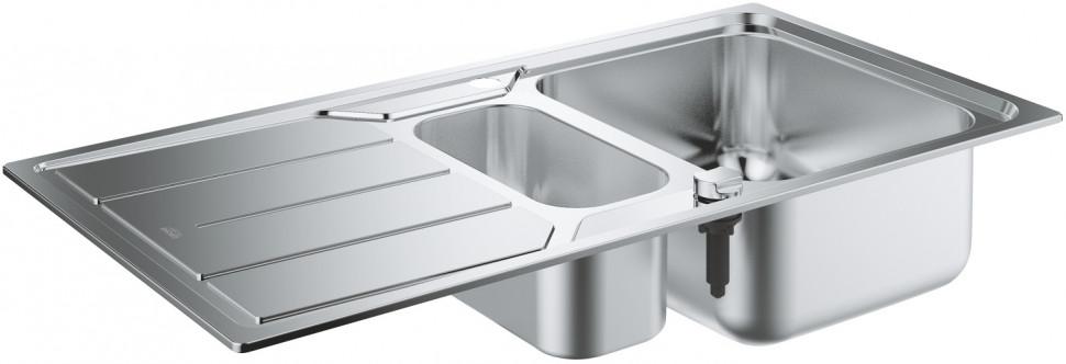 Кухонная мойка Grohe K500 нержавеющая сталь 31572SD0