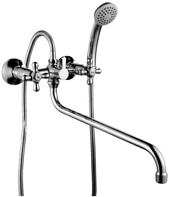 Смеситель для ванны Rossinka H H02-84 rossinka смесительrossinka h h02 83 для ванны с душем