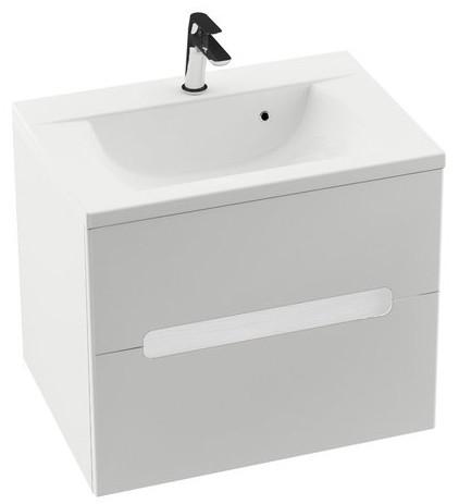 Купить со скидкой Тумба 70 см белый глянец Ravak SD Classic II X000000906