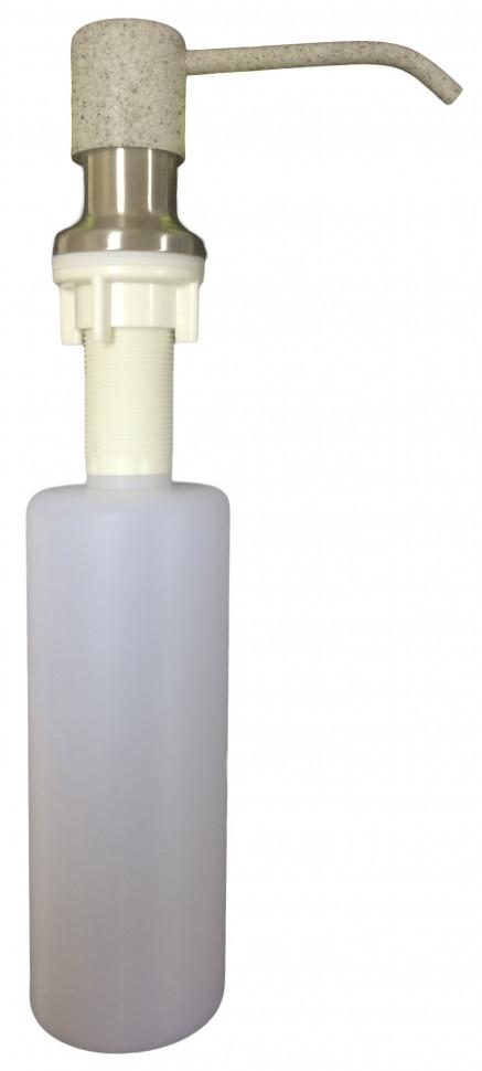 Дозатор для жидкого мыла 300 мл Bamboo Форум серый 705.722.BM.408