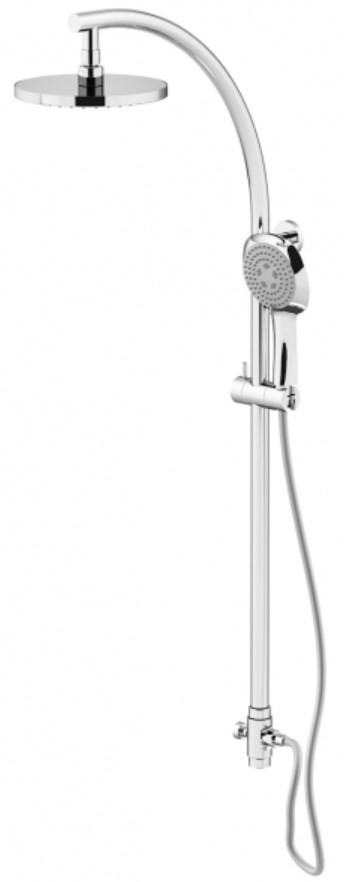 Душевая стойка Gattoni PD 4396/PDC0cr душевая стойка gattoni pd 4293 pdc0cr