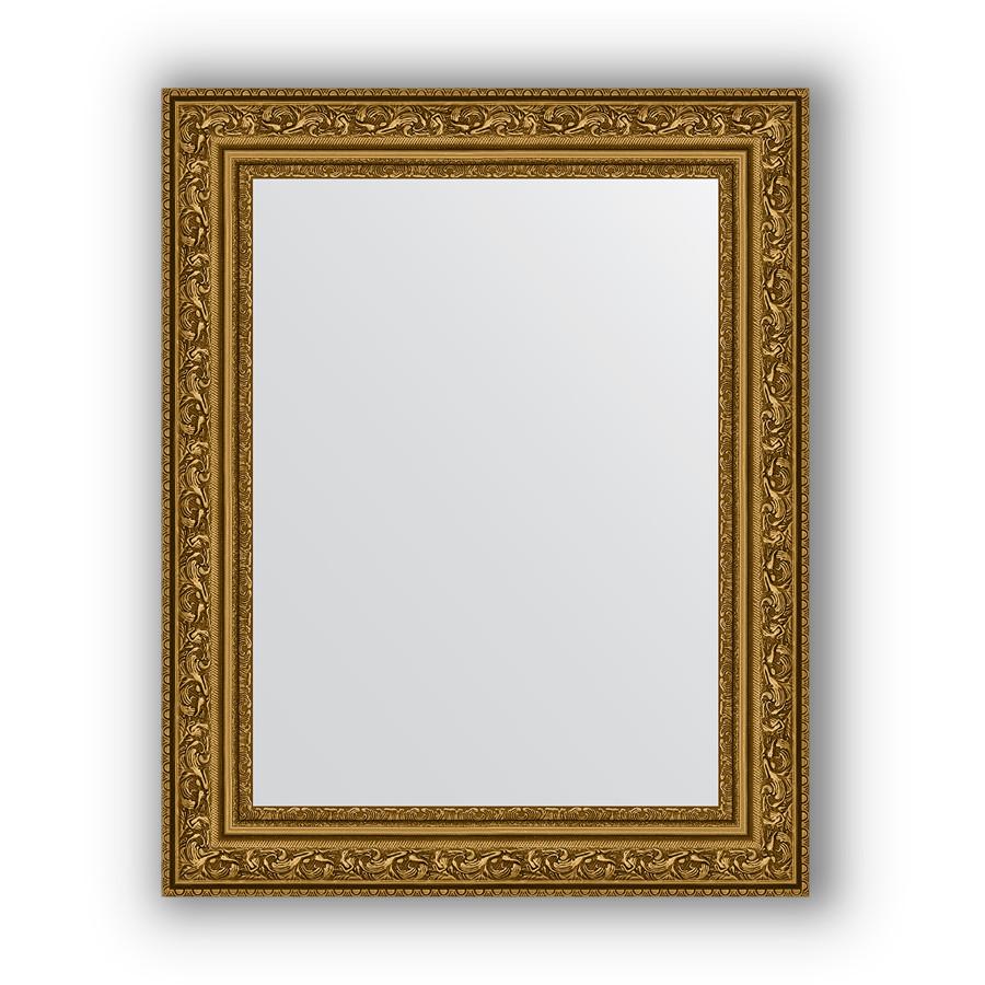 Фото - Зеркало 40х50 см виньетка состаренное золото Evoform Definite BY 3007 зеркало 64х114 см виньетка состаренное серебро evoform definite by 3200