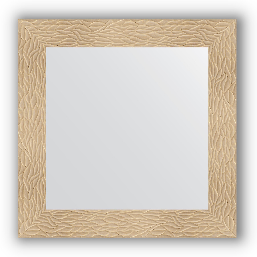 Зеркало 70х70 см золотые дюны Evoform Definite BY 3149 зеркало evoform definite floor 201х111 золотые дюны