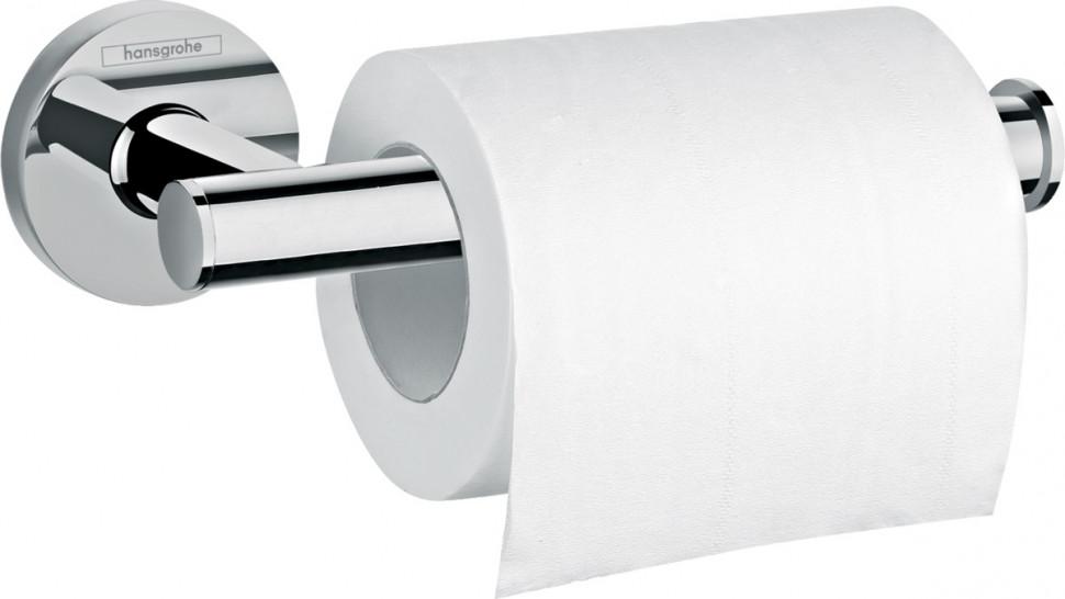 Держатель туалетной бумаги Hansgrohe Logis Universal 41726000 держатель для туалетной бумаги hansgrohe logis 40517000