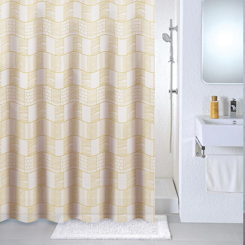 Фото - Штора для ванной комнаты Milardo Brick wall 533V180M11 шторка для ванной комнаты milardo brick wall 533v180m11