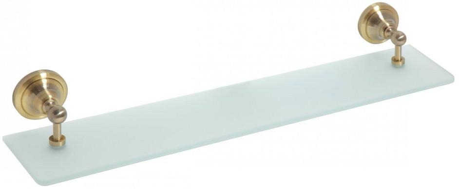 Фото - Полка стеклянная 60 см Bemeta Retro 144102247 полка стеклянная 60 см bemeta retro 144102247
