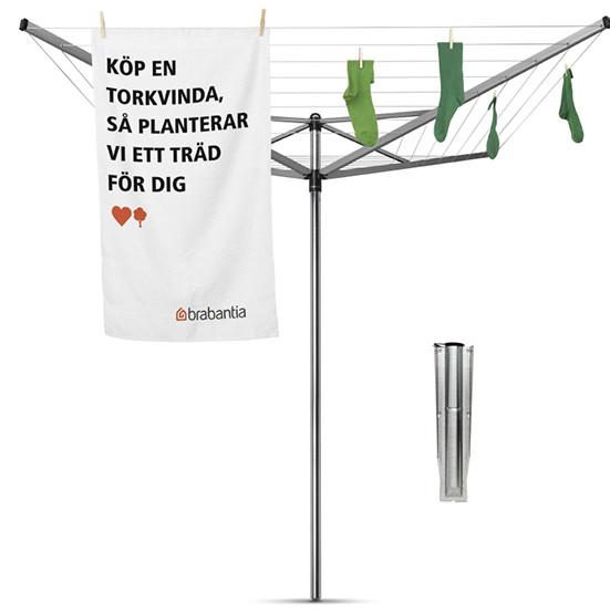 Уличная сушилка для белья Brabantia Lift-O-Matic 310805 сушилка brabantia 310805 серебро