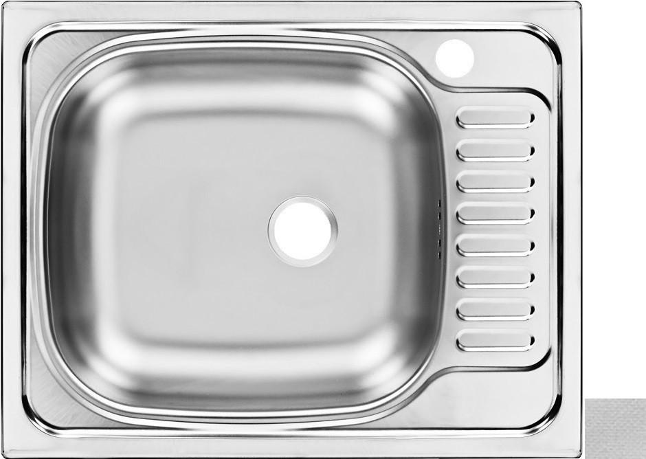 Кухонная мойка декоративная сталь Ukinox Классика CLL560.435 -GT6K 2L ukinox fad 760 470 gt6k l