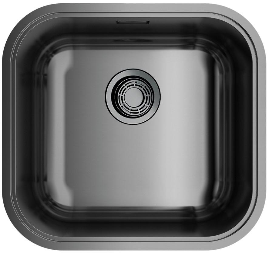 цена на Кухонная мойка вороненая сталь Omoikiri Omi 44-GM