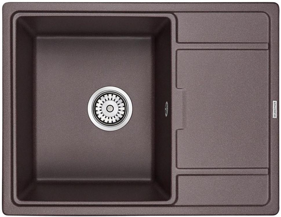 Кухонная мойка Paulmark Weimar кофе PM216550-CO