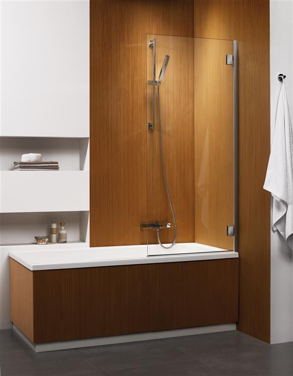 Шторка для ванны Radaway Carena PNJ 67 R коричневое