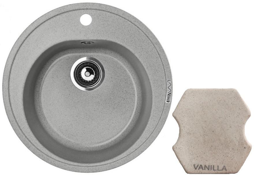 Кухонная мойка VANILLA Lava R2.VNL кухонная мойка lava q1 vanilla ваниль q1 vnl