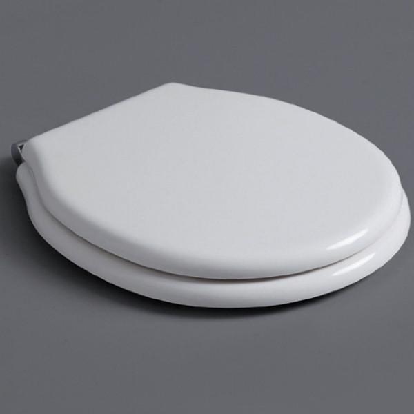 Сиденье для унитаза белый/хром Simas Londra LO002Sbi/cr унитаз simas londra lo 901 белый