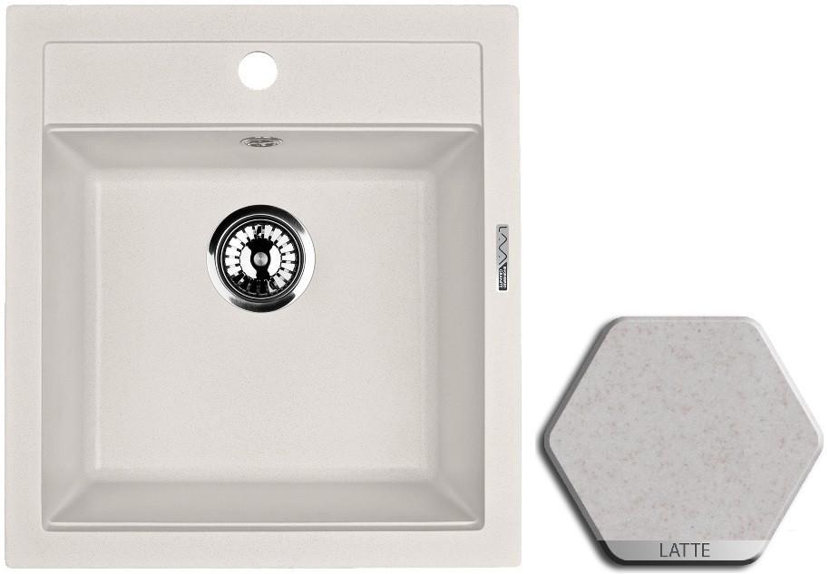 Кухонная мойка LATTE Lava Q1.LAT цены