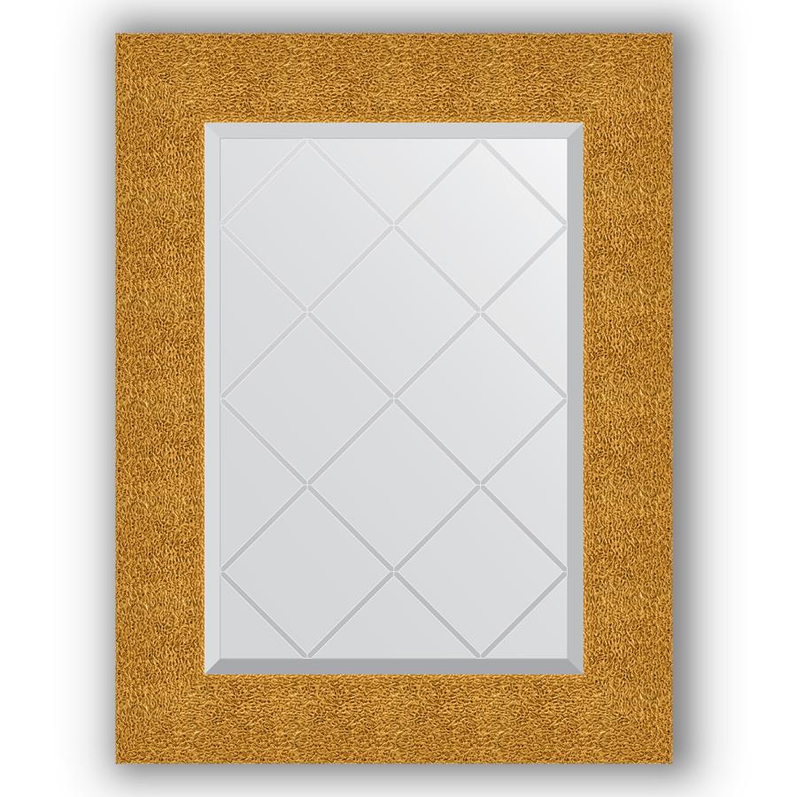 Зеркало 56х74 см чеканка золотая Evoform Exclusive-G BY 4022