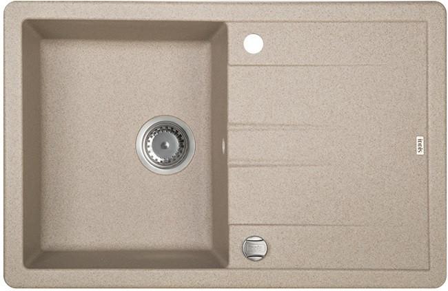 Кухонная мойка песок IDDIS Vane G V13P781I87 кухонная мойка iddis vane g v10w621i87 белая