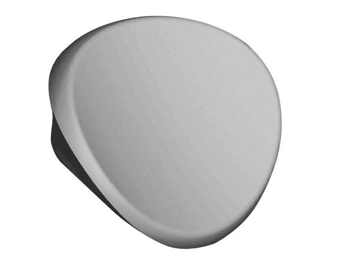 Подголовник Evolution серый Ravak B6H000000O подголовник ravak praktik белый b618000001