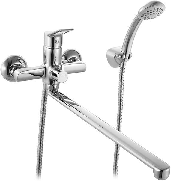 Смеситель для ванны Milardo Ukon UKOSBLCM10 смеситель milardo bering be270bw6k w21mi