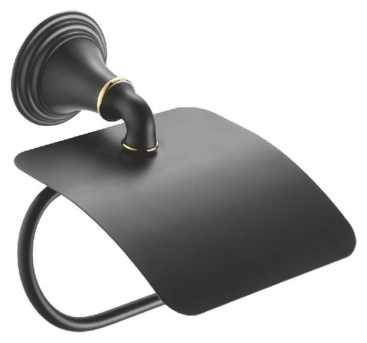 Держатель туалетной бумаги Fixsen Luksor FX-71610B крючок одинарный fixsen luksor fx 71605b