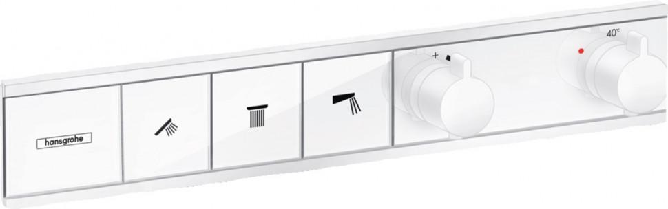 Термостат для 3 потребителей Hansgrohe RainSelect 15381700 фото