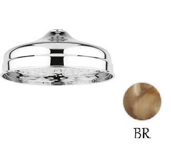 Верхний душ, диаметр 300 мм бронза Cezares CZR-SP7-30-02 кольцо отверстия перелива раковины cezares бронза czr rng br