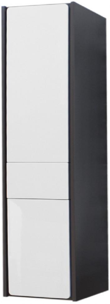 Пенал подвесной белый глянец/антрацит L Roca Ronda ZRU9302966